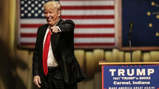 Donadl Trump je pověstný nejen svými bonmoty, ale i mimikou