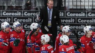 Norský kouč Roy Johansen zatím se svým týmem na turnaji získal 5 bodů