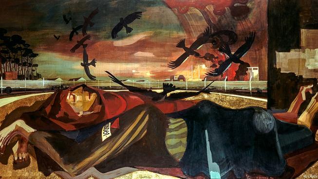 Oběti fašismu, Hans Grundig (1946). Ilustrační snímek
