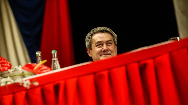 Znovuzvolený předseda komunistů Vojtěch Filip