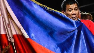 Nově zvolený prezident Rodrigo Duterte