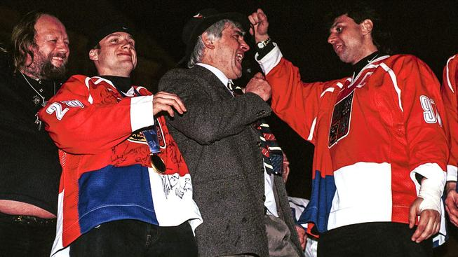Hokejová historie a hokejoví hrdinové