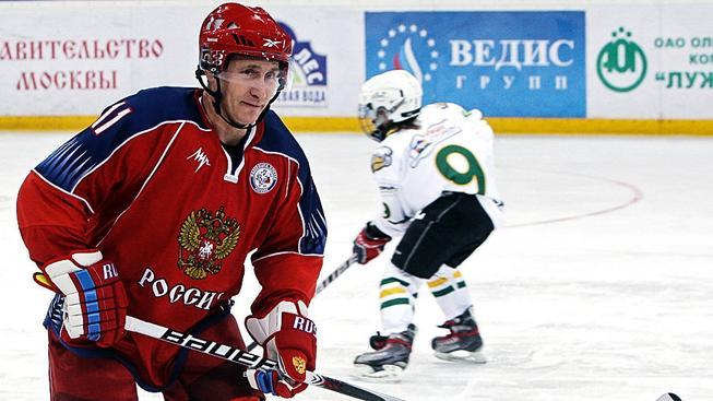 Putin-hokejista