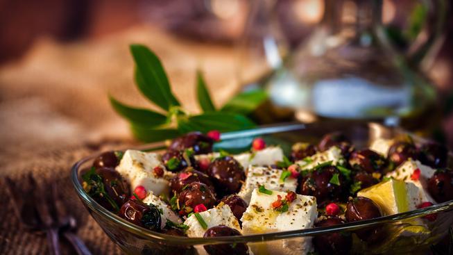 Středomořská strava je opěvovaná právem