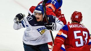 Sebastian Aho uprostřed ruského zklamání