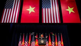 Obama na návštěvě Vietnamu
