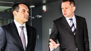 Michal Korecký vpravo