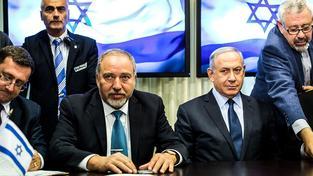Lieberman a Netanjahu