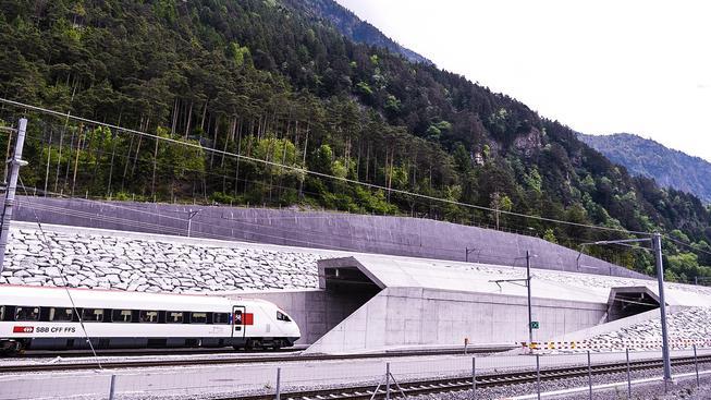 Gotthardský tunel je nejdelší a nejhlubší na světě