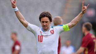 Kapitán české reprezentace Tomáš Rosický