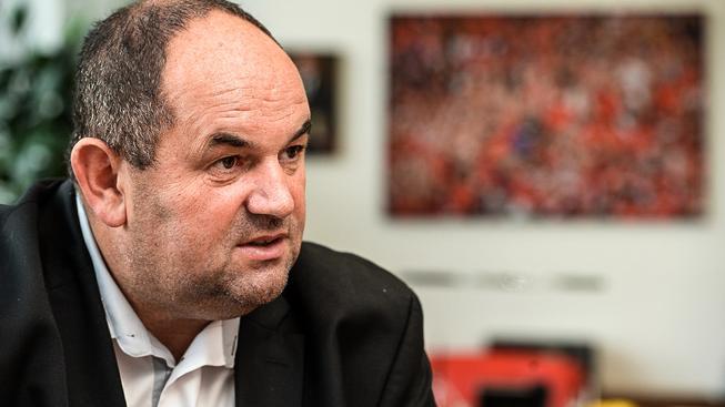 Šéf fotbalové asociace Miroslav Pelta