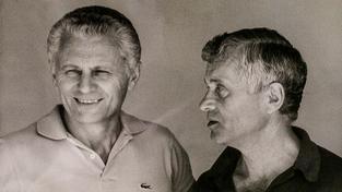 Bratři Mašínové, zleva Radek a Josef na snímku z roku 1988