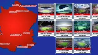 Stadiony pro ME 2016