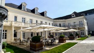 Hotel Clarion Chateau Belmont, který reprezentace obývá