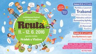 Traband a další na multižánrovém festivalu pro děti a rodiče Routa 2016