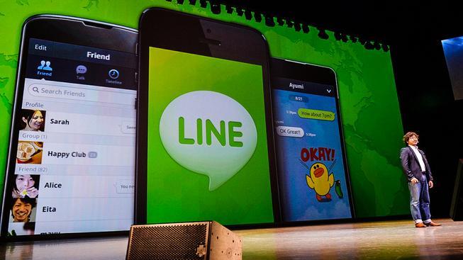 Asijská komunikační aplikace Line vydělala na samolepkách balík
