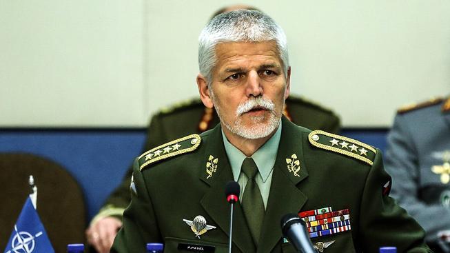 Druhý nejvýše postavený muž NATO Petr Pavel