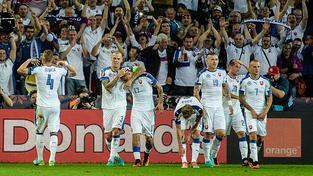 Slovenská radost, postup je blízko