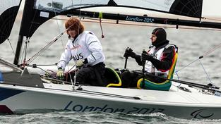 Liesl Teschová na olympiádě v Londýně