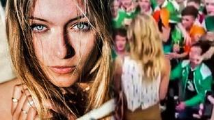 Carla Romérová s irskými fanoušky