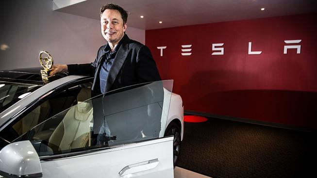 Elon Musk, šéf Tesly