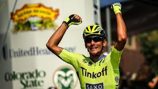 Roman Kreuziger loni při vítězství na šesté etapě Loveland to Fort Collins