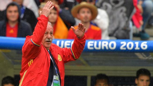 Vicente del Bosque se v zápase s Itálií několikrát na své svěřence rozzlobil