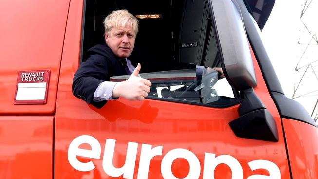 Bývalý starosta Londýna Boris Johnson