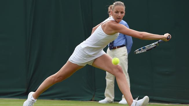 Ani v letošním roce nedokázala Karolína Plíšková přejít přes druhé kolo na slavném Wimbledonu