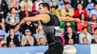 Petr Frydrych se aktuálně dostal do trojice vyvolených oštěpařů, která bude reprezentovat Česko na brazilské olympiádě