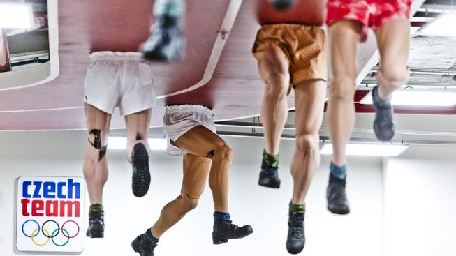 """""""Zátopkovy nohy"""" zůstávají jako symbol letošní olympiády v Praze, do Ria ale odcestovaly čtyři tuny důležitějšího materiálu"""
