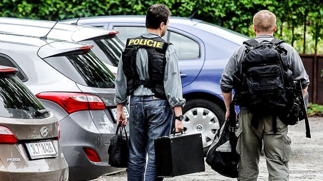Policejní razie v Nemocnici Na Homolce. Ilustrační snímek