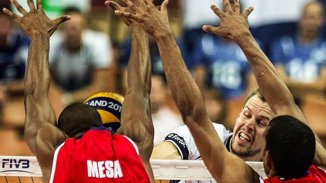 Kubánsko-finský zápas z předloňského roku. Ilustrační snímek