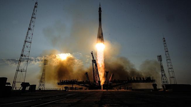 Z kosmodromu Bajkonur odstartovala modernizovaná raketa Sojuz