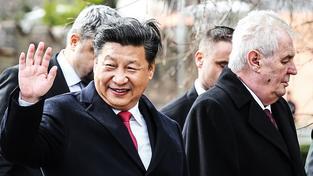 Prezident Miloš Zeman a čínský vůdce Si Ťin-pching