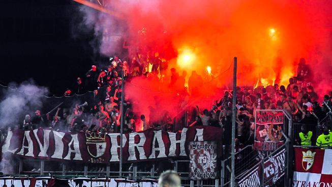 Slávističtí fanoušci si v Tallinu stěžovali na výkon svých hráčů, klub jim na omluvu daruje sezónní permanentky. Ilustrační snímek