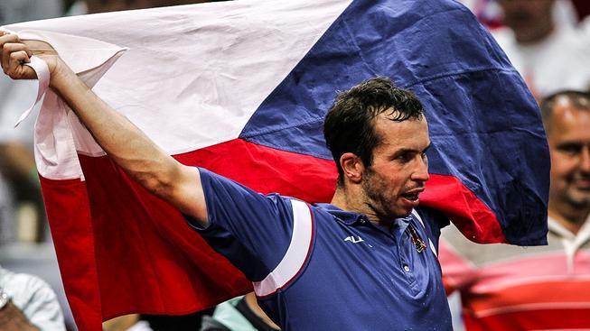 Radek Štěpánek si nakonec českou vlajku v Riu přece jen užije