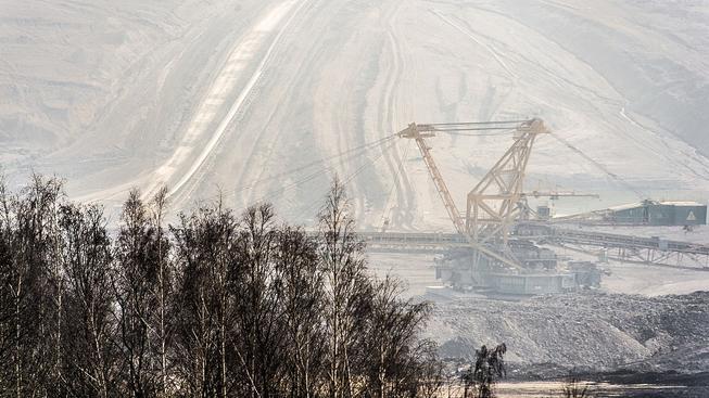 Důl ČSA, který patřil MUS. Ilustrační snímek