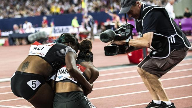 Kendra Harrisonová šla z vlastního výkonu takříkajíc do kolen. Paradoxní na tom je, že se novopečená držitelka rekordu do Ria nekvalifikovala