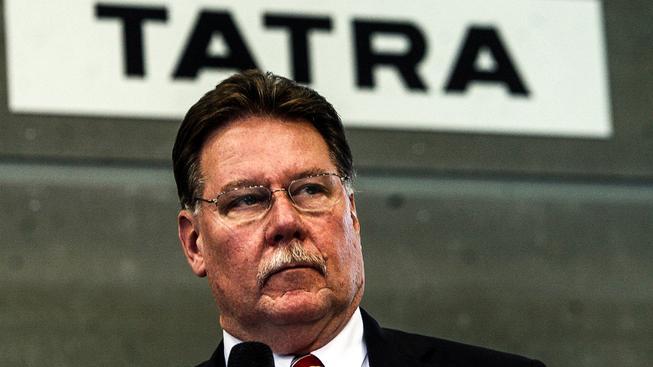 Ronald Alan Adams, bývalý šéf Tatry