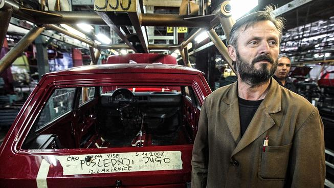 Poslední jugoslávské auto v továrně Zastava