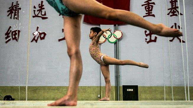 """Ještě nedávno to bylo čiré utrpení, Šanghaj ale přichází se šťastnou gymnastikou"""""""