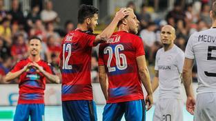 Ani v prvním zápase s Karabachem se Plzni gólově nedařilo. V odvetě skórovala až v samotném závěru záapsu