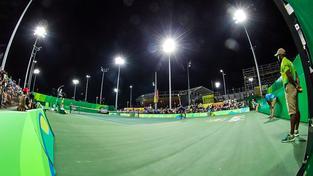 Olympijský tenisový turnaj zatím svým servisem vzbuzuje rozpaky