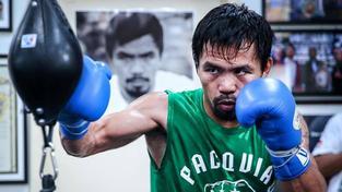 Filipínský boxer a senátor Manny Pacquiao