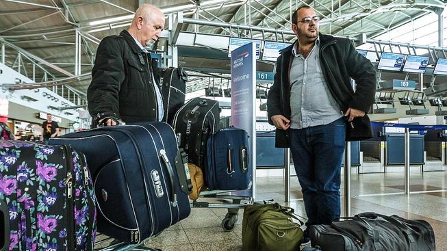 Projekt Generace 21 neskončil zrovna úspěchem. Část iráckých uprchlíků odjela domů (na snímku), zbytek odjel do Německa