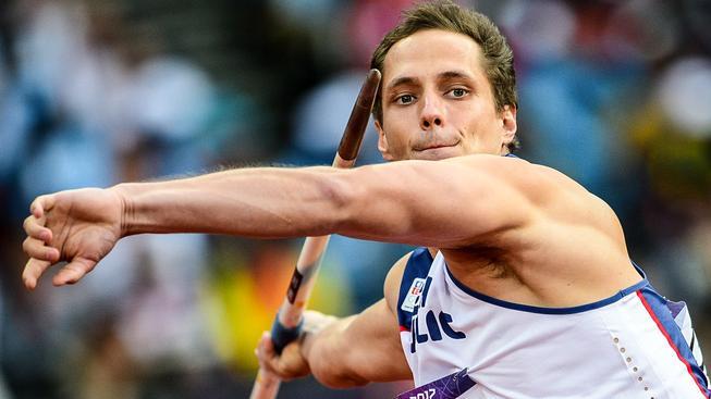 Vítězslav Veselý při olympijském závodě v Londýně