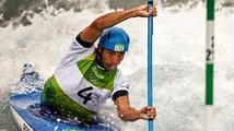 PRVNÍ MEDAILE! Slalomář Prskavec získal na olympijské divoké vodě bronz