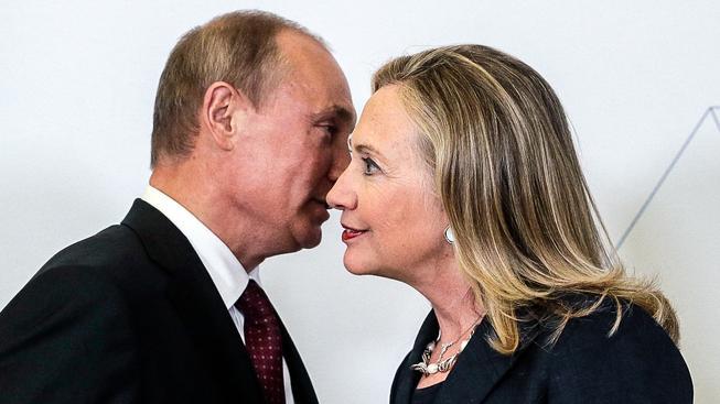 Vladimir Vladimirovič se s Hillary dobře zná