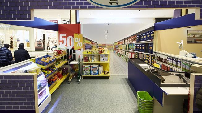 Supermarket Mini City